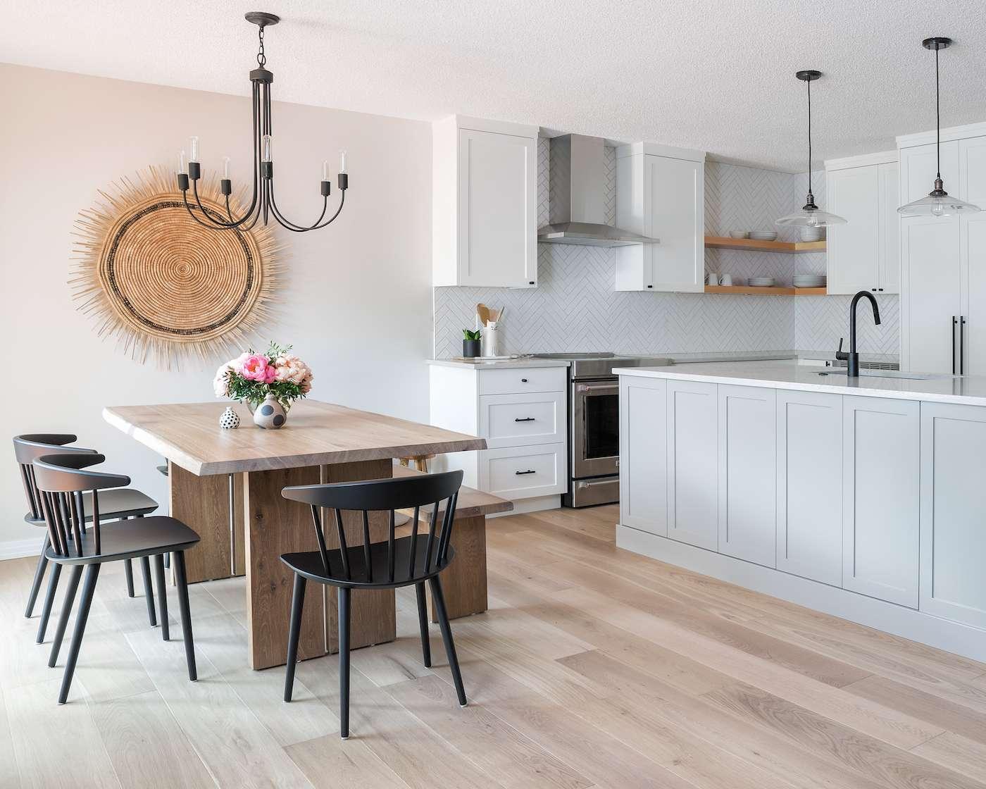 neutral kitchen design