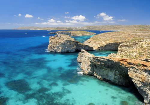 malta with the clearest water in the world
