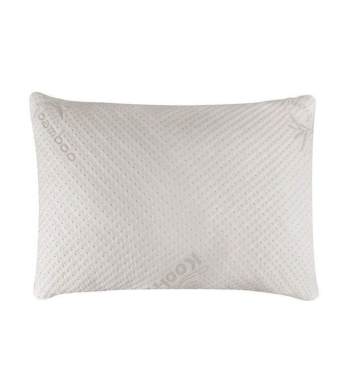 Snuggle-Pedic Bamboo Shredded Memory Foam Pillow Luxurious Pillows