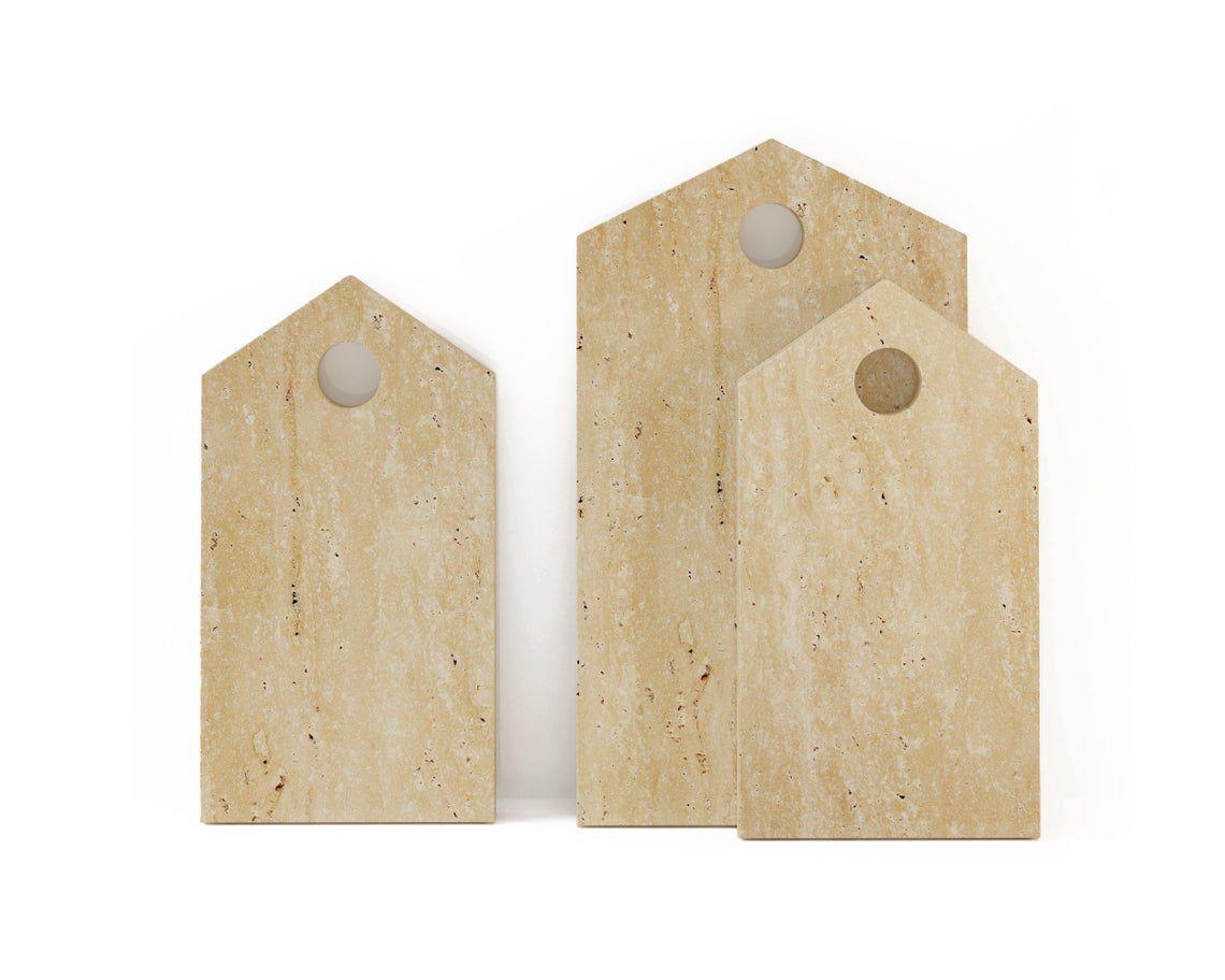Decorative Travertine Cutting Board