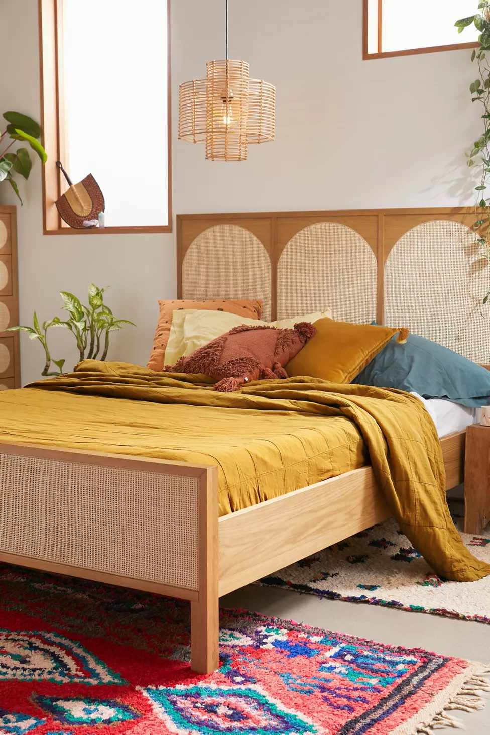 Urban Outfitters Washed Cotton Quilt