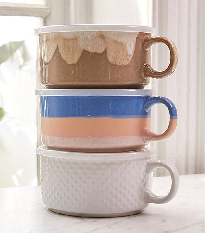 Souper Mug - Taupe One Size at Urban Outfitters