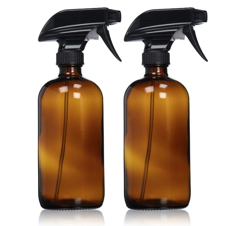 conjunto de dos botellas de spray