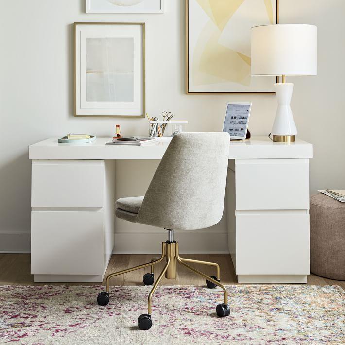 West Elm Finley Swivel Office Chair