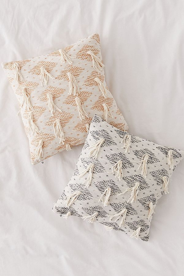 Winnie Fringe Throw Pillow