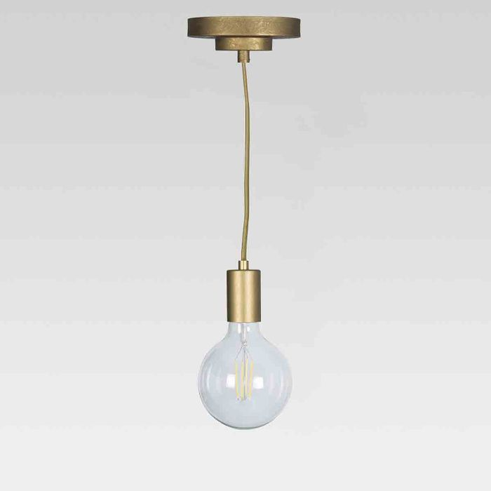 Project 62 and Leanne Ford Industrial Metal Pendant Lamp (Includes Energy Efficient Light Bulb)