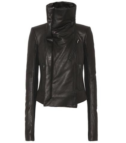 Forever Classic leather biker jacket