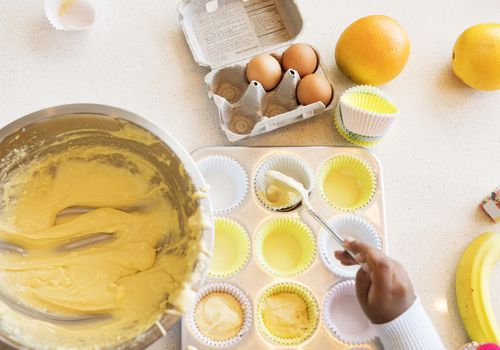 how to make cake flour - baking cupcakes