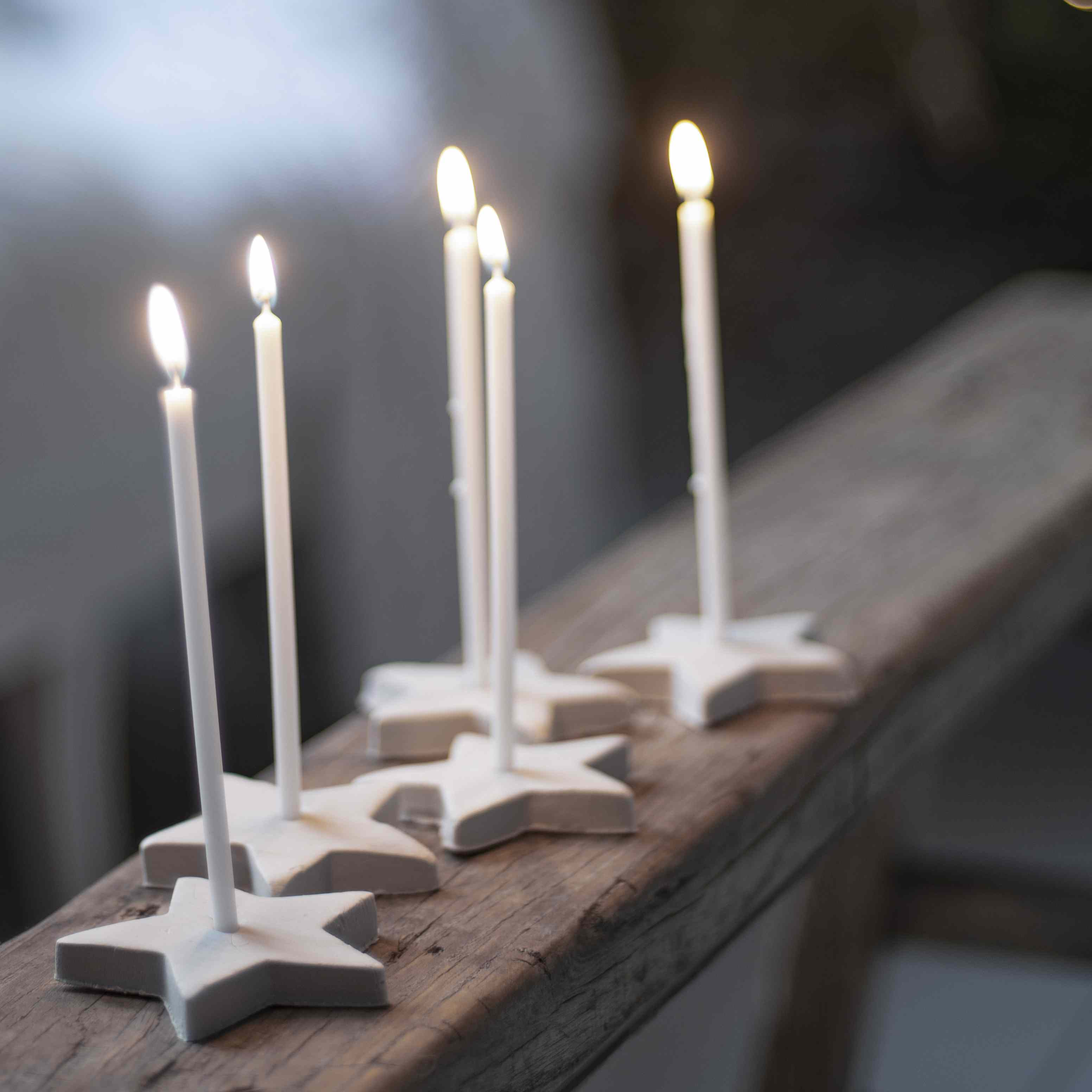 Star candles.