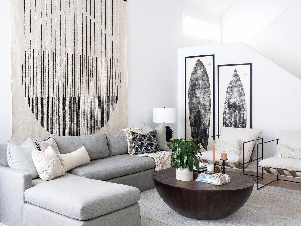 Gray Living Room Ideas That Are Far, Gray Sofa Decor