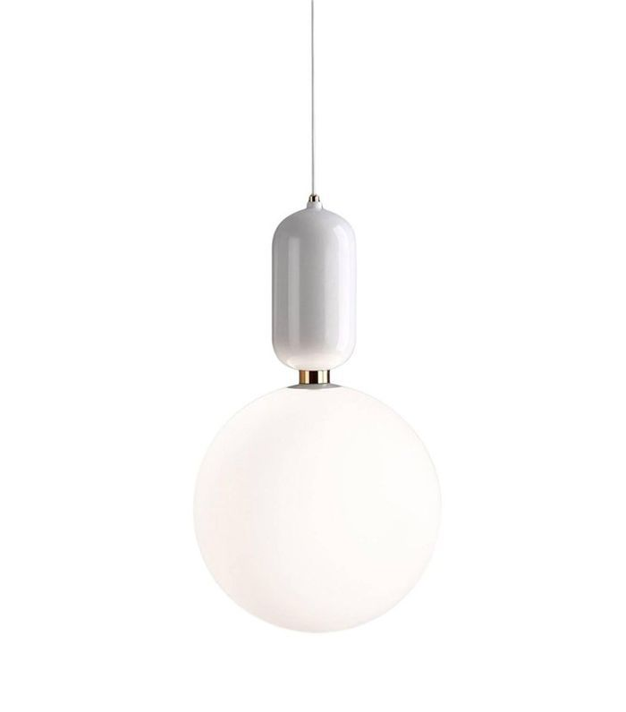 Jamie Hayon Aballs T GR Painted Ceramic Pendant Lamp