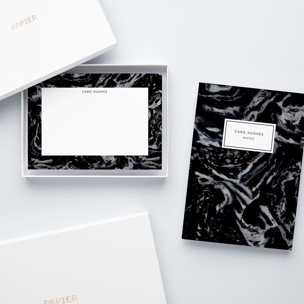 Notebook & Notecard Gift Set - Papier
