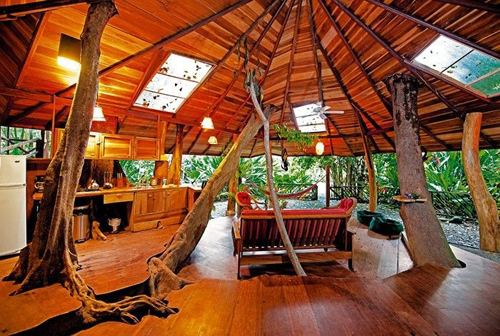una habitación en The Tree House Lodge en Costa Rica