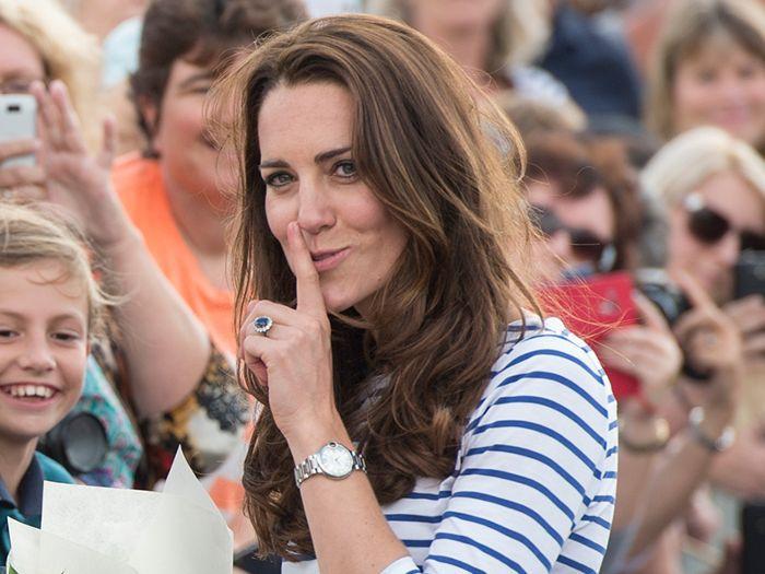 Kate Middleton Striped T-Shirt