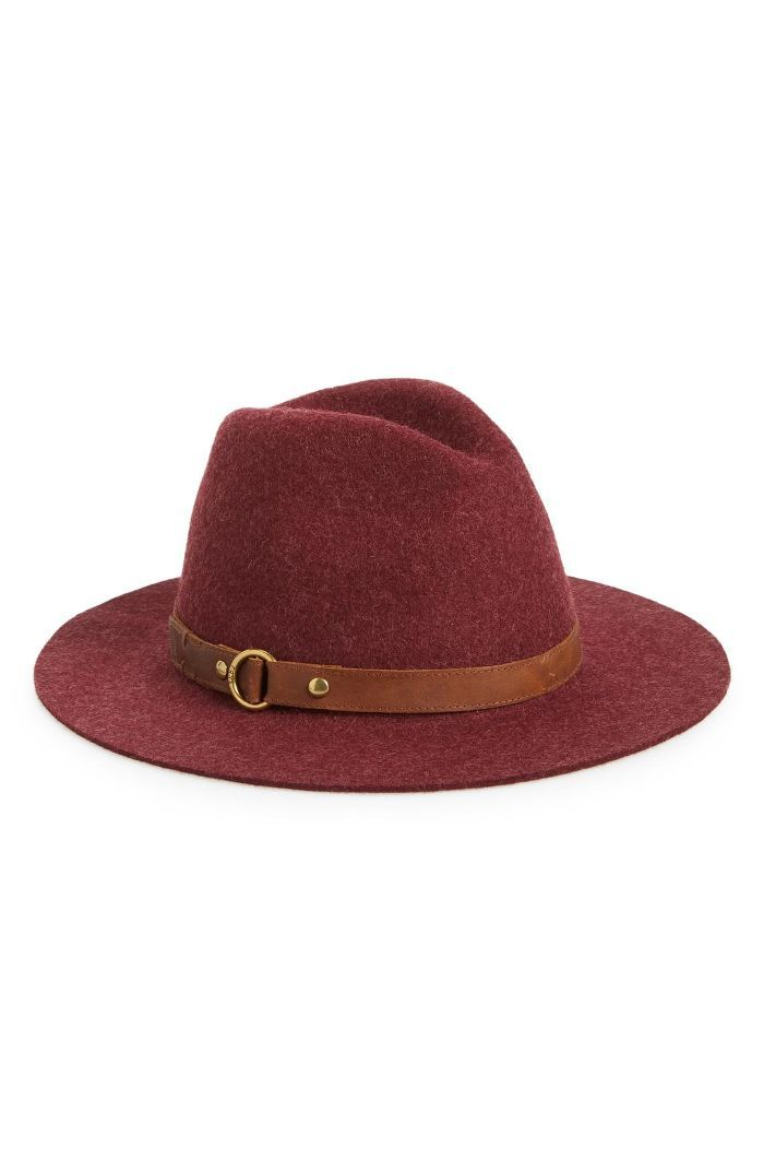 Harness Wool Felt Panama Hat