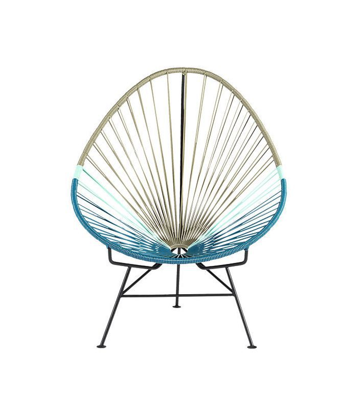 Acapulco Blue Green Lounge Chair