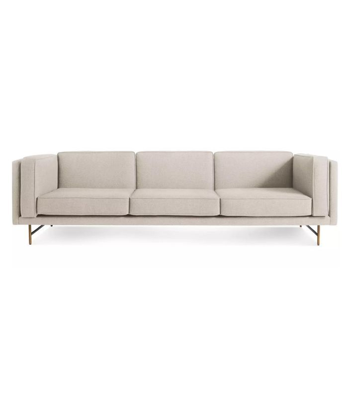 Cb2 Forte Channeled Saddle Leather Sofa: The Best Couches For Any Budget