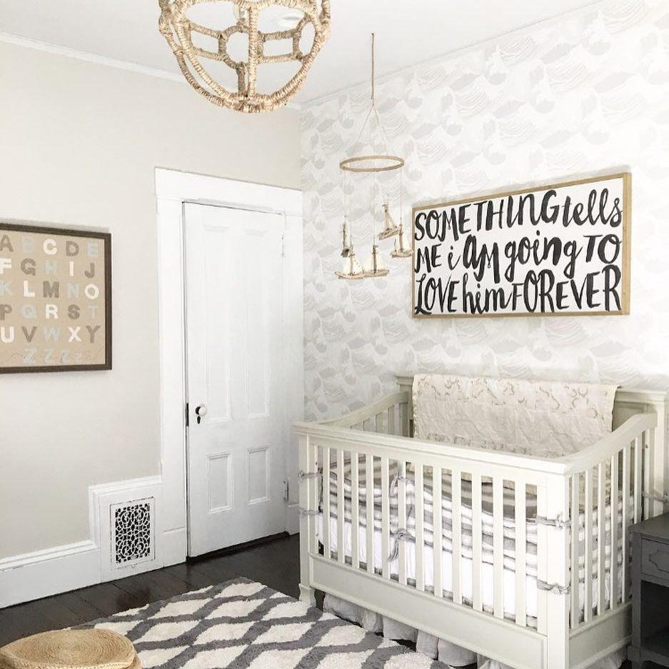 Gray themed nursery