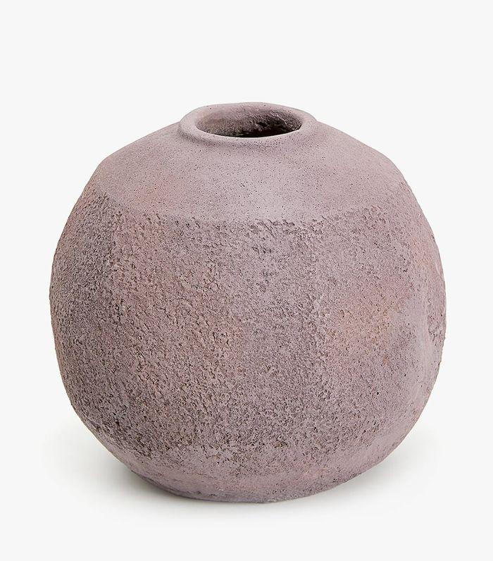 Zara Home Round Cement Vase