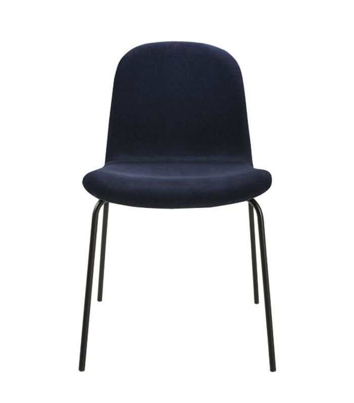 Primitivo Navy Blue Velvet Dining Chair