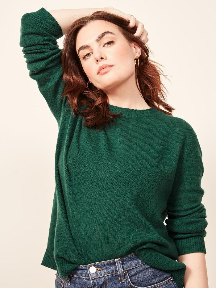 Cashmere Boxy Sweater