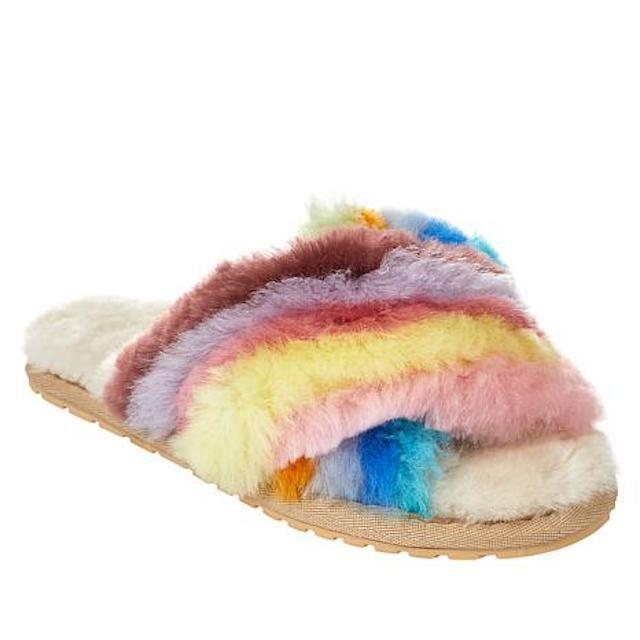 EMU Australia Mayberry Rainbow Slippers
