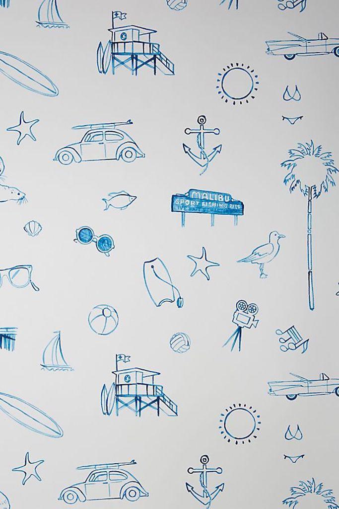 Malibu—Removable Wallpaper