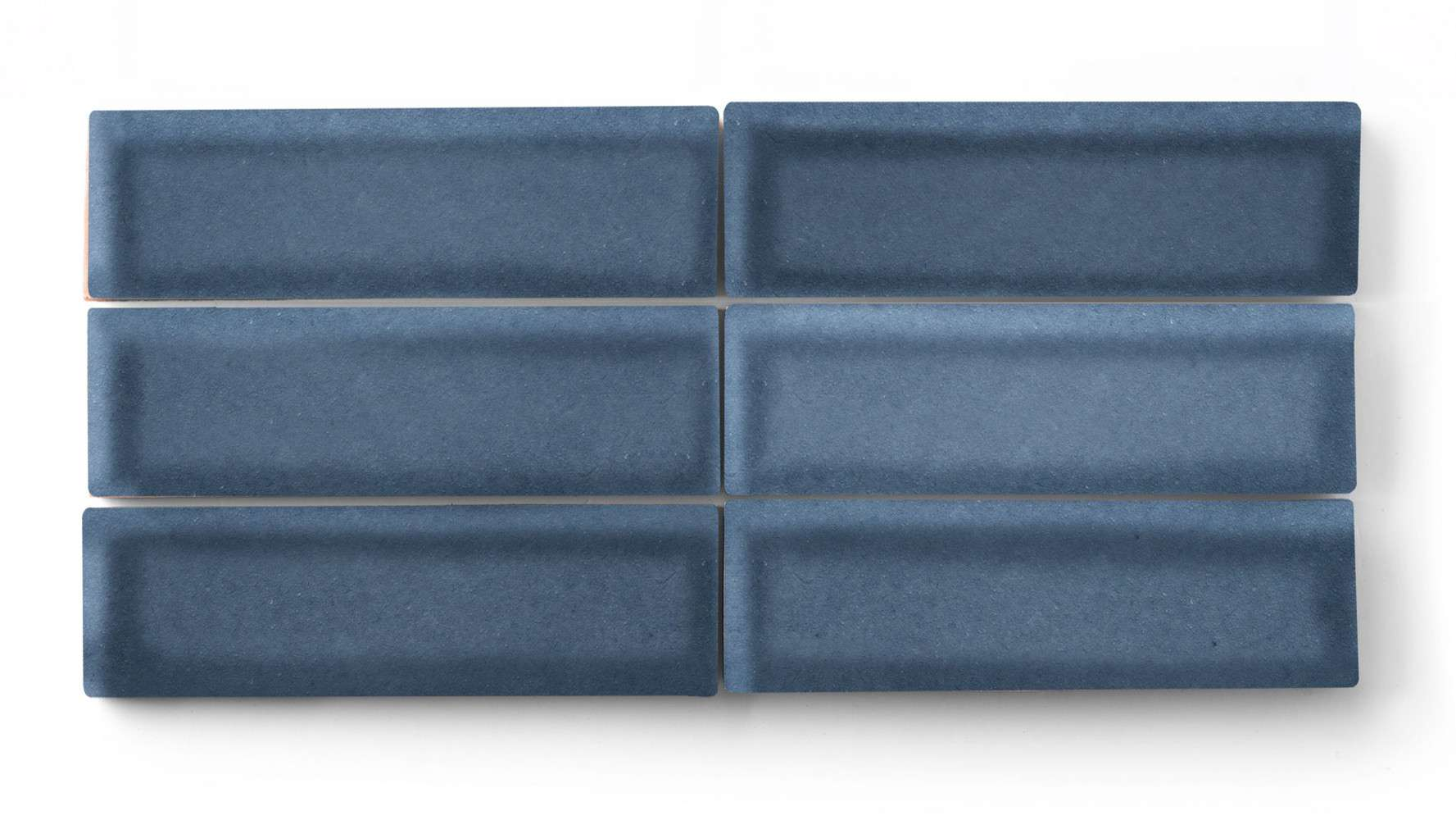 Blue rectangular tile