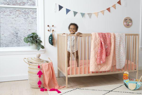 Brooklinen Brooklittles baby in crib