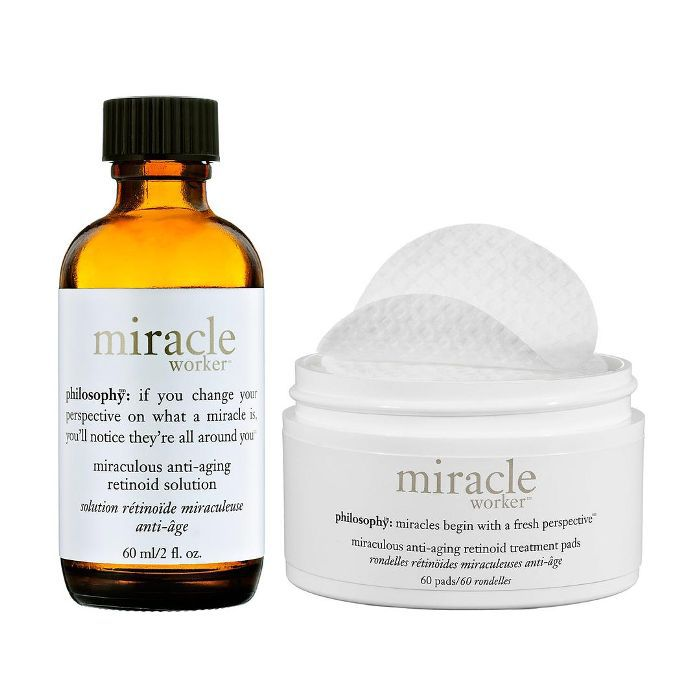 Miracle Worker(TM) Miraculous Anti-aging Retinoid Pads and Solution