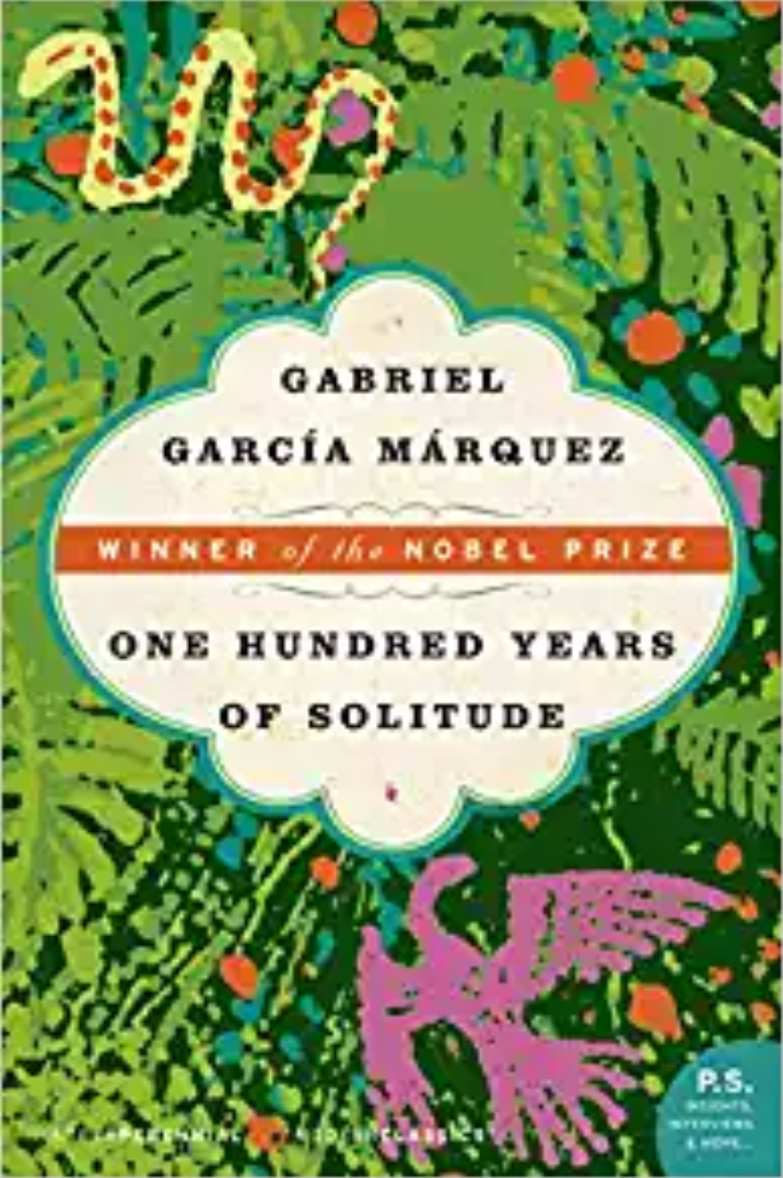 One Hundred Years of Solitude by Gabriel García Márquez book cover