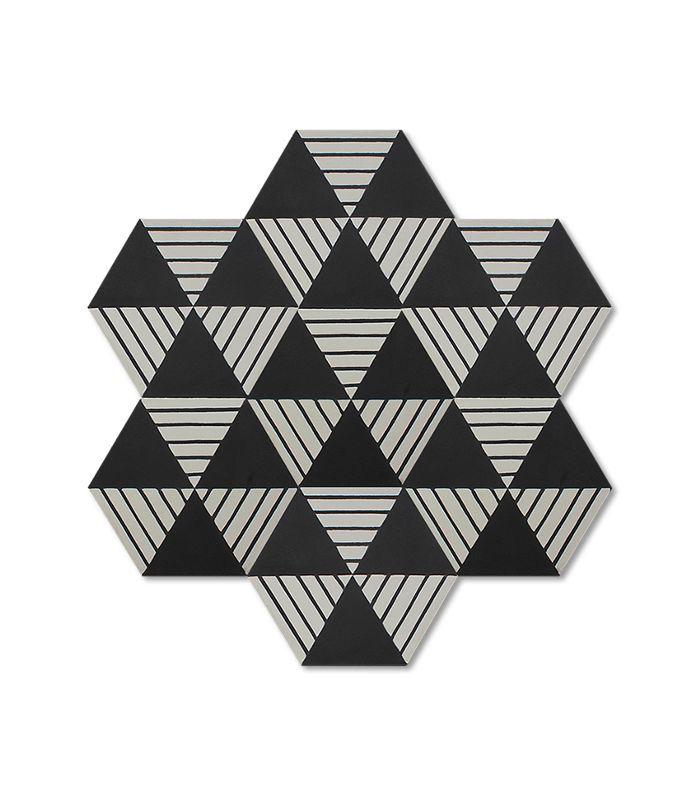 Popham Design Hex Shelter Tile