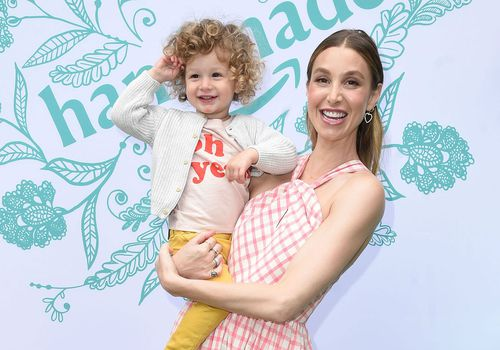 Whitney Port and Son