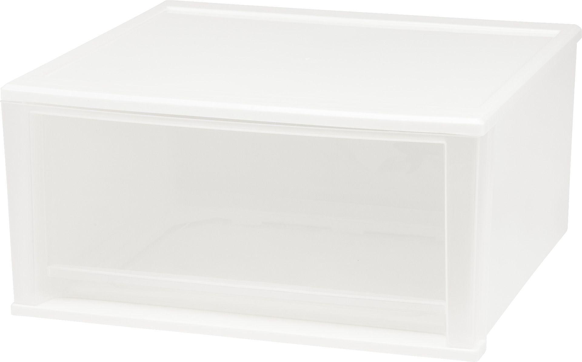 Extra Large Stacking Drawer White
