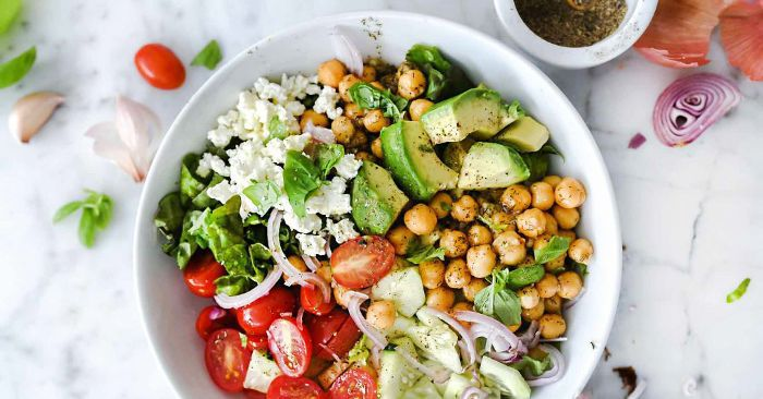The Simple Shepherd Salad Takes Only 10 Minutes to Make