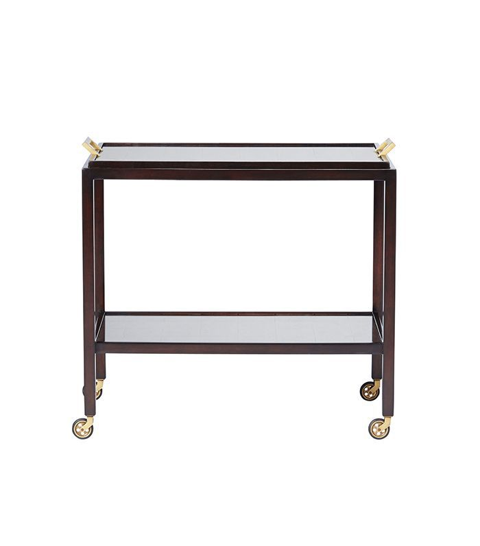 Parisian Bar Cart - White