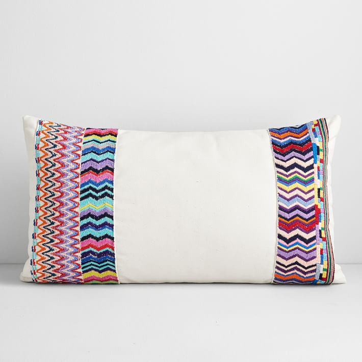 Huipil Pillow Cover