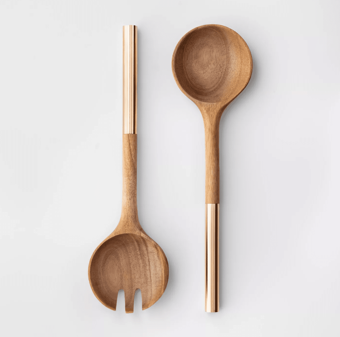 Cravings by Chrissy Teigen 2pc Acacia Wood Salad Serving Set