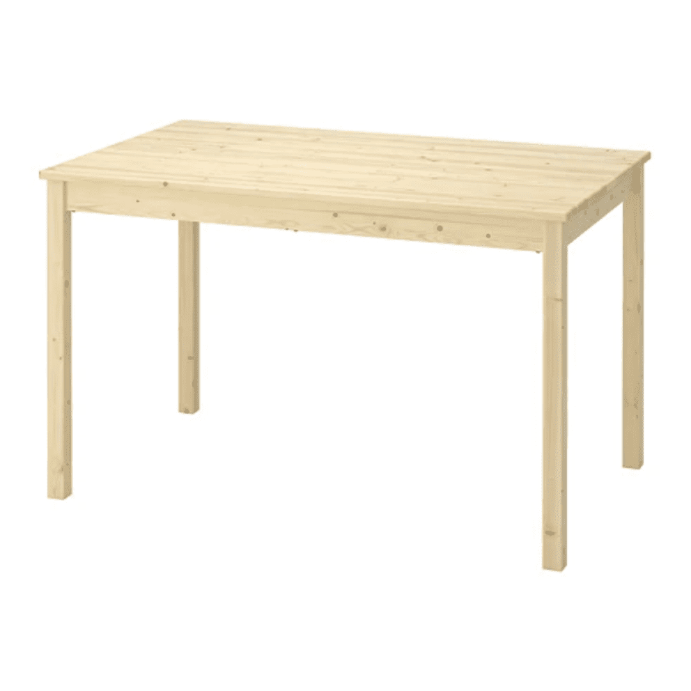 Ikea Ingo pine table