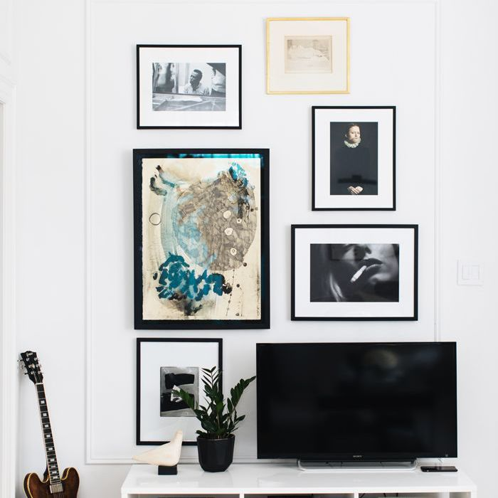 television room—The Everygirl Home Tour