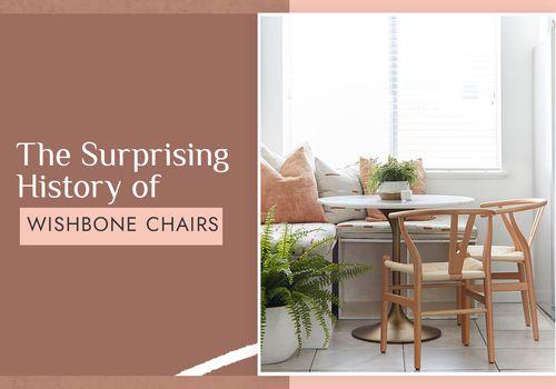 the history of wishbone chairs