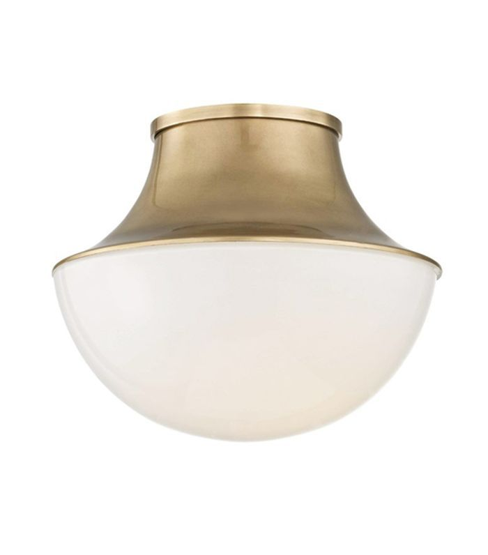 Randi Flush Mount, Brass