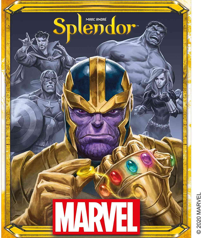 Splendor Marvel Board Game