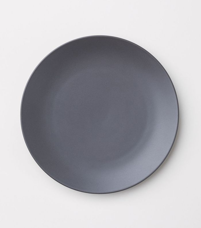 - Porcelain Plate - Black - H & m Home