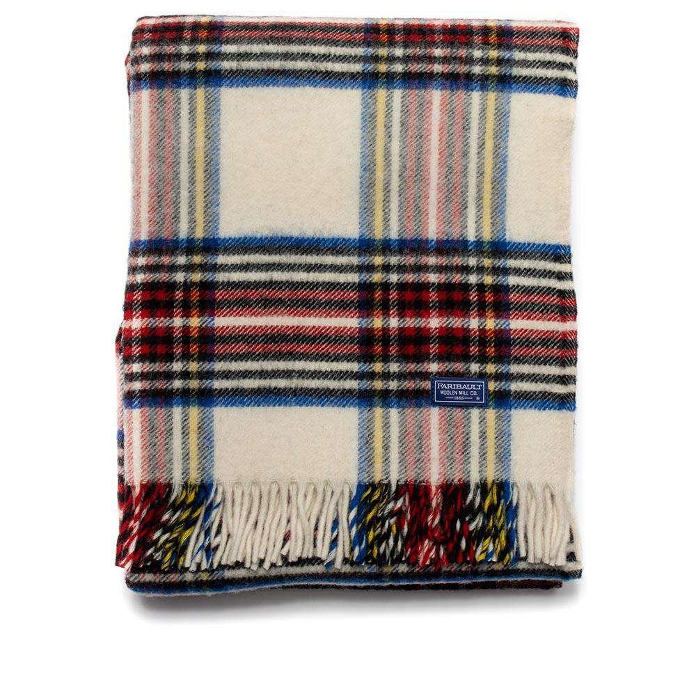 Faribault Tartan Wool Throw