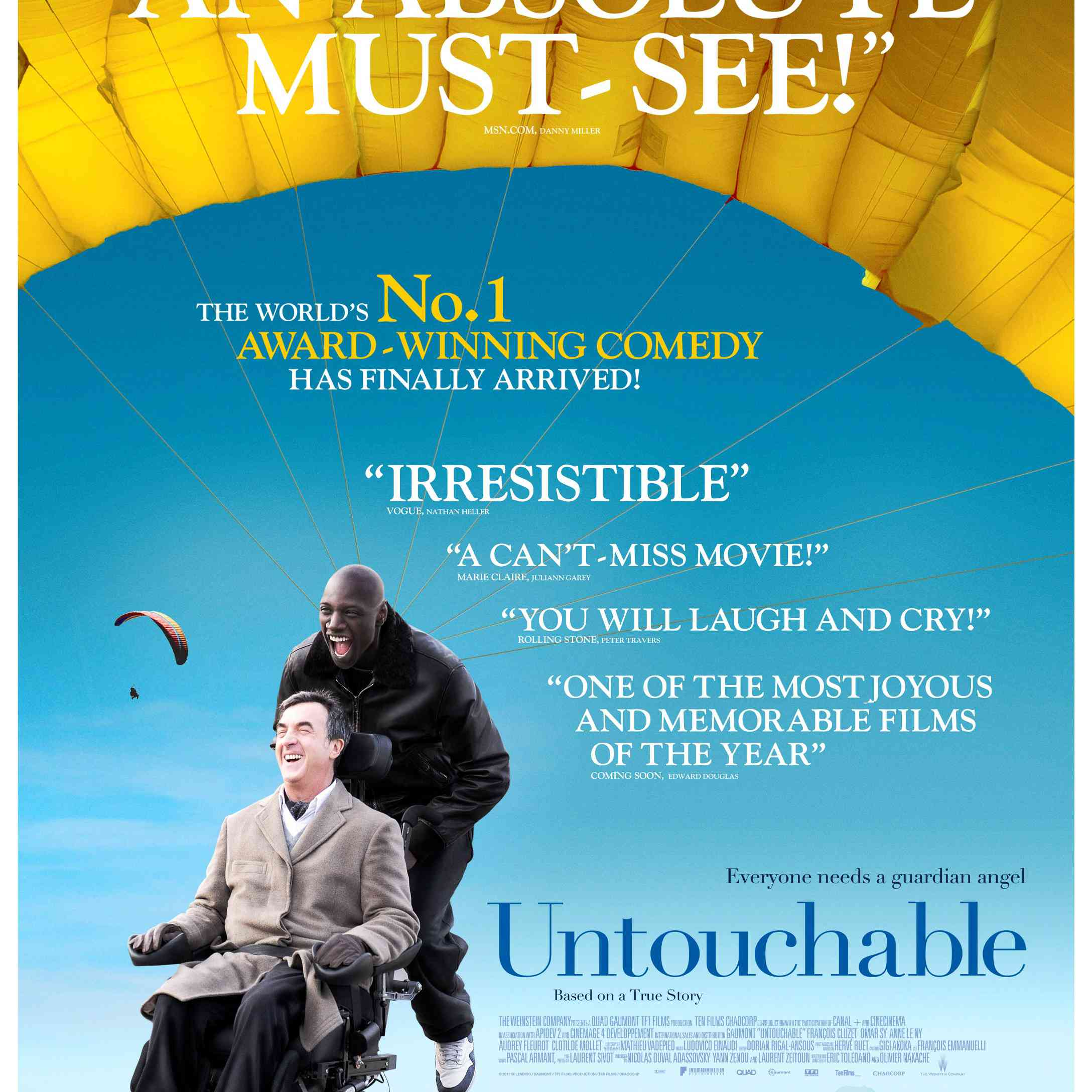 Untouchable poster.