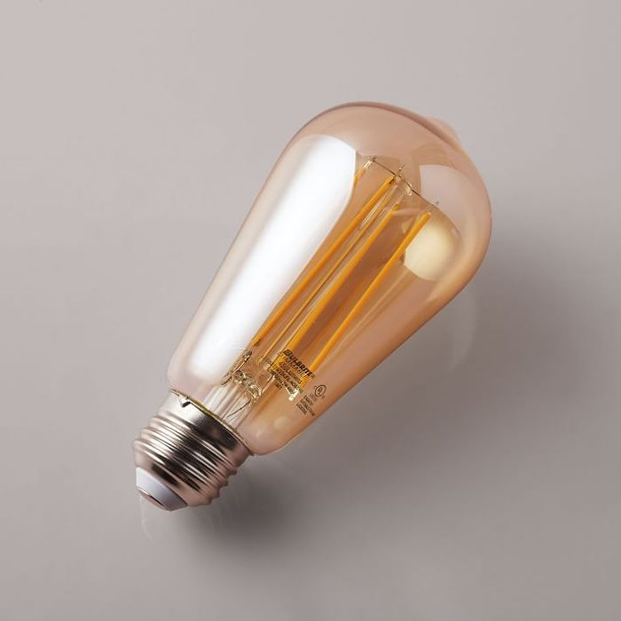 West Elm LED Light Bulb, Amber
