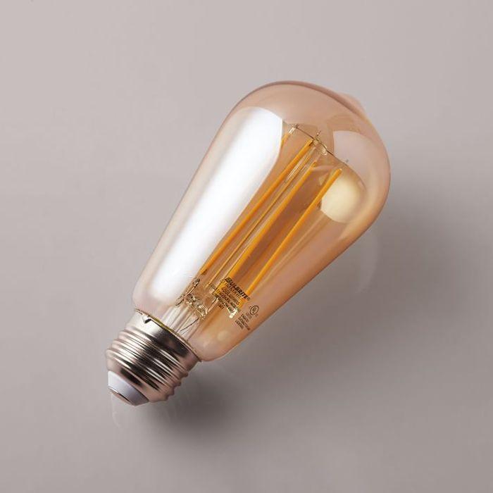 West Elm Bombilla LED, Ámbar