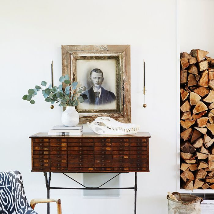 Easy Cozy Home Updates: Wooden elements warm up a space