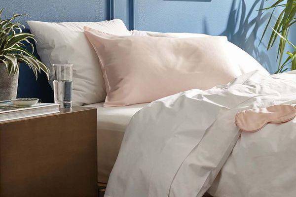 Brooklinen Mulberry Pillowcase Pink
